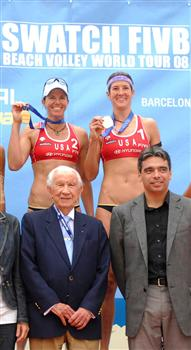 Swatch Fivb World Tour femminile di Barcellona: vincono Branagh-Youngs
