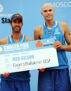 Swatch Fivb World Tour maschile di Mosca: si impongono Rogers-Dalhausser