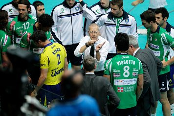 Cuneo durante un time out
