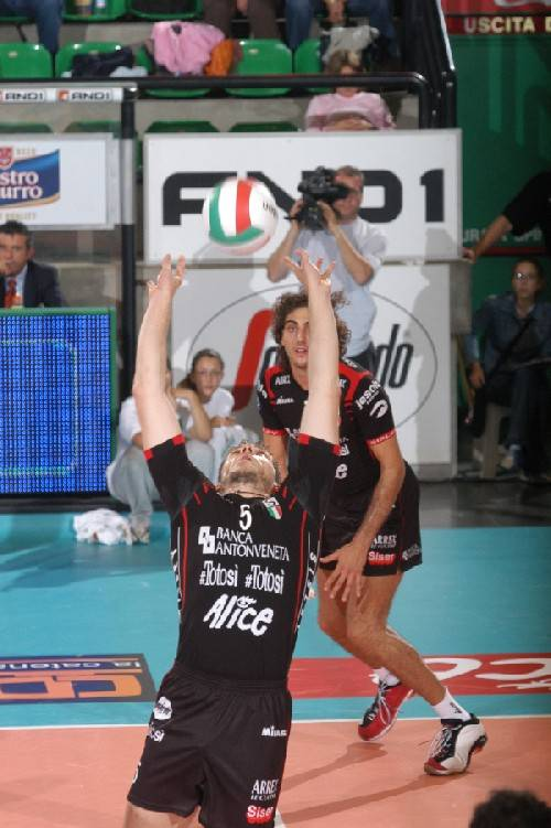 Treviso e Perugia al debutto in Champions League