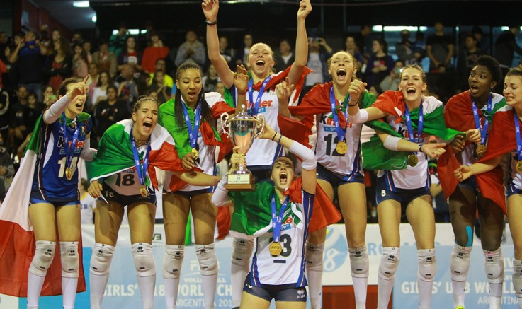 Trionfano le azzurrine al Mondiale Under 18, azzurri ai play off dell'Europeo