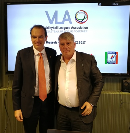 Volleyball Leagues Association Meeting a Bruxelles: svelato il logo ufficiale