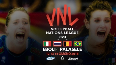 Volleyball Nations League 2018: iniziata la prevendita per Eboli