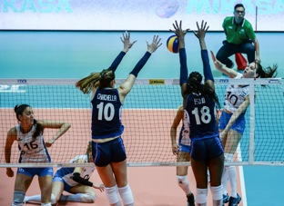 Volleyball Nations League femminile: l'Italia batte 3-0 l'Argentina, domani affronta la Cina