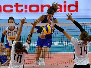 Volleyball Nations League femminile: l'Italia batte la Thailandia 3-0, domani affronta il Belgio