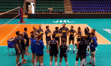 Volleyball Nations League Femminile: martedì Italia-Serbia apre la pool di Rotterdam