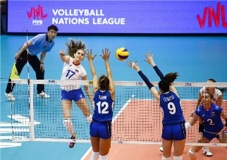 Volleyball Nations League: Italia sconfitta 3-0 dalla Russia