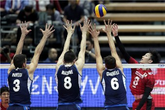 Volleyball Nations League maschile: Italia superata al tie break dal Giappone