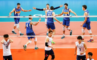 Volleyball Nations League maschile: l'Italia batte 3-2 la Corea del Sud, domenica affronta l'Australia