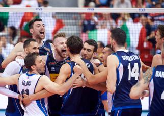 Volleyball Nations League Maschile: l'Italia batte il Brasile al tie break