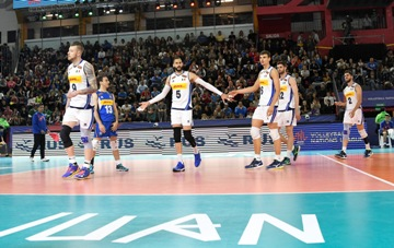 Volleyball Nations League Maschile: l'Italia cede 3-0 contro l'Argentina