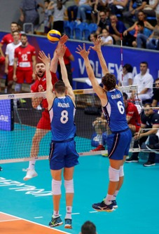 Volleyball Nations League Maschile: l'Italia supera 3-0 la Serbia