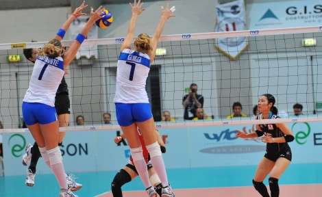 World Grand Prix: le 14 azzurre per la Russia