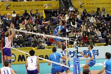 World League 2007: le gare dell'Italia