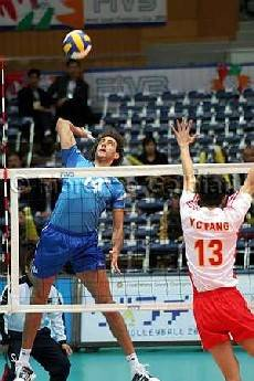 World League a Catania: Italia-Cina 3-0