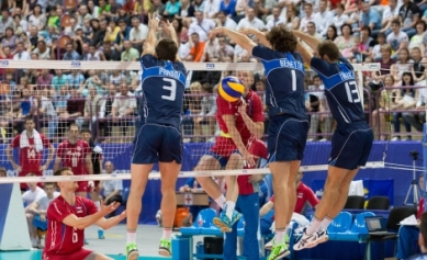 World League: impresa dell'Italia che vince 3 a 1 in Russia
