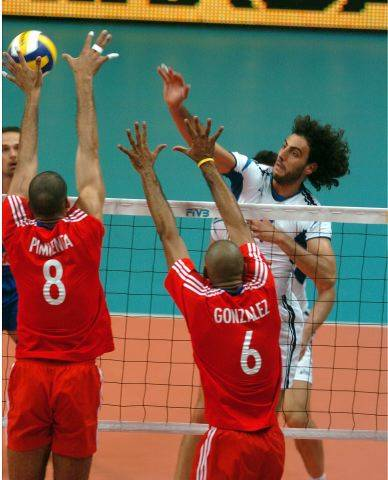World League: Italia-Cuba