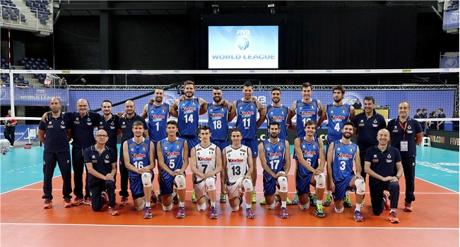 World League: l'Italia batte 3-2 la Francia nella prima gara in Belgio