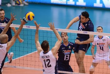 World League: l'Italia travolge gli Usa 3 a 0