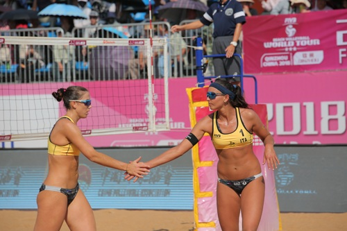 World Tour 4 stelle Yangzhou: Menegatti/Orsi Toth qualificate al secondo turno