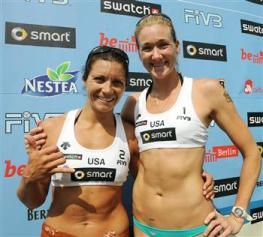 World Tour di Berlino femminile: vincono Walsh-May-Treanor